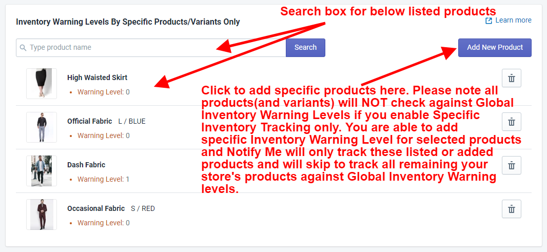 NotifyMe Additional Extra Track For Specific Product(With Variant)