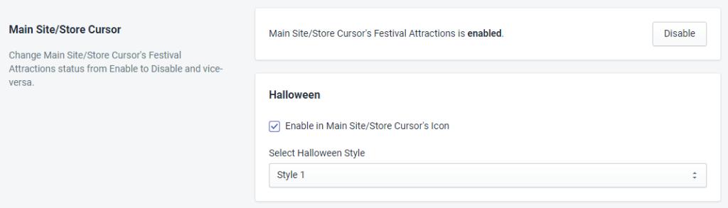 Store Cursor Status For Halloween By MakeProSimp