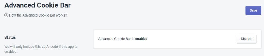 PromoteMe Advanced Cookie Bar