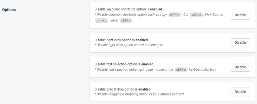 PromoteMe Copy Protection Plus Option