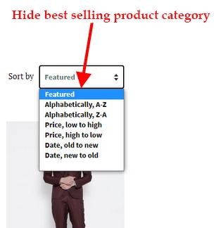 PromoteMe Hide Best Selling