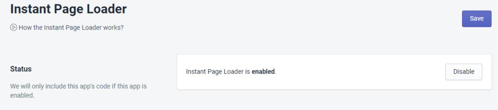 PromoteMe Instant Page Loader