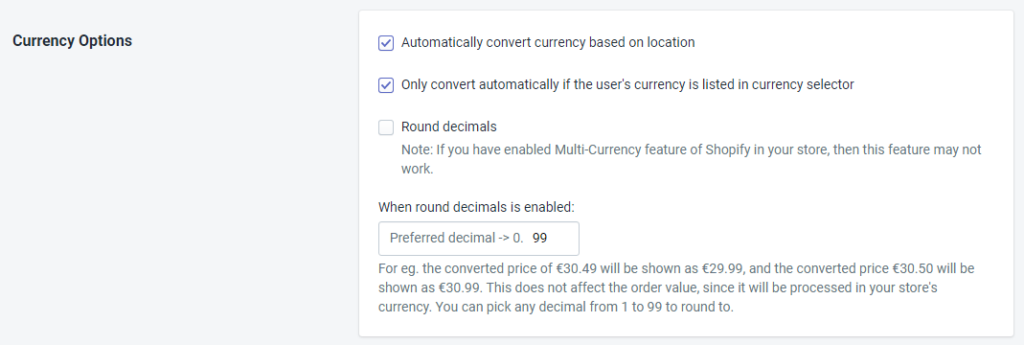 PromoteMe Currency Option