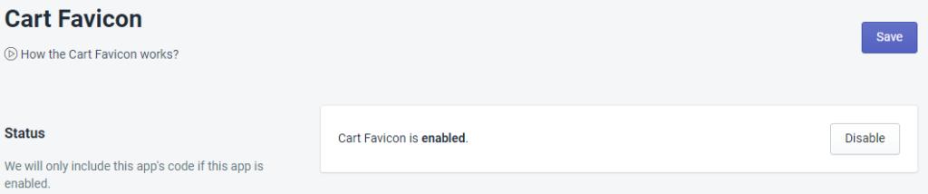 PromoteMe Cart Favicon Status