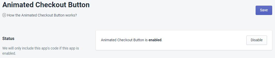 PromoteMe Animated Checkout Status