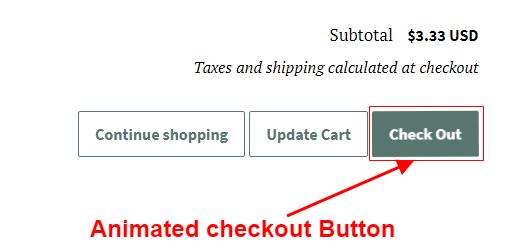 PromoteMe Animated Checkout Snapshot