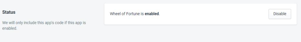 PromoteMe Wheel Of Fortune Status