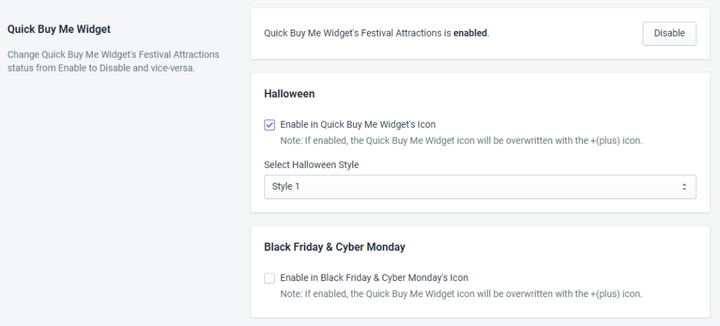 Quick Buy Me Widget Status For Halloween By MakeProSimp