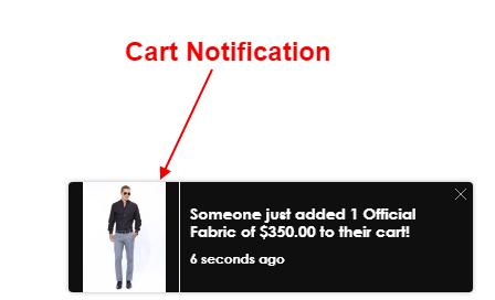 Cart Notification